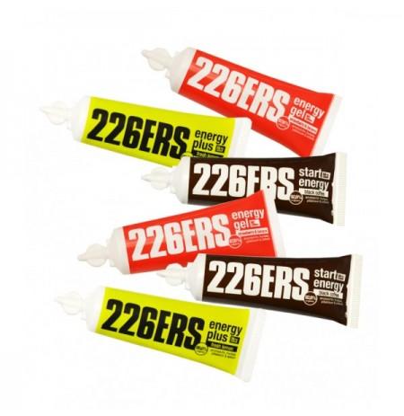 PACK 226ERS 6 GELES ENERGÉTICOS SURTIDOS DE 25g