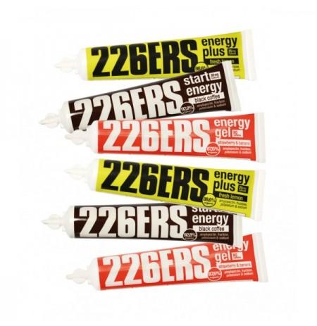 PACK 226ERS 6 GELES ENERGÉTICOS SURTIDOS DE 40g