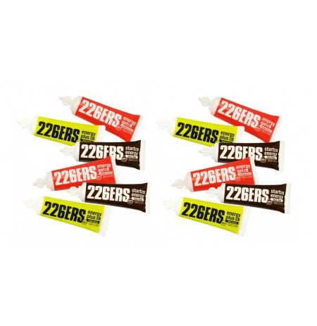 PACK 226ERS 12 GELES ENERGÉTICOS SURTIDOS DE 25g