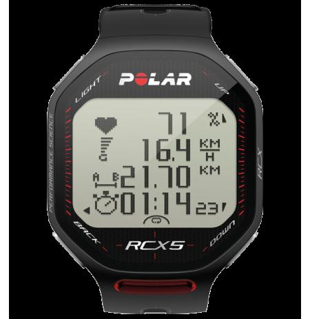 RCX5 Pulsómetro de entrenamiento con sensor GPS externo