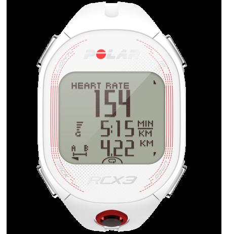 RCX3 Pulsómetro de entrenamiento con sensor GPS externo